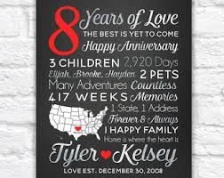 8 year anniversary gifts anniversary gifts wanderingfables