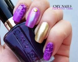 purple u2013 cmy nails