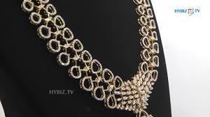 diamond long necklace images Emerald diamond long necklace diamond long haram malabar gold jpg