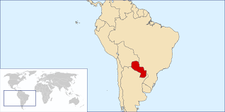 Asuncion Paraguay Map Paraguay Location Live And Invest Overseas