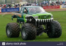 monster truck racing uk swamp thing monster truck during the 2006 truckfest show at stock