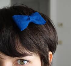 felt hair diy felt hair bow look what i made