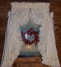 Country Ruffled Valances Country Ruffled Curtain These Are Gorgeous I Want These For My