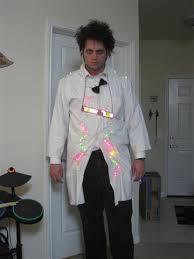 Halloween Scientist Costume Ideas Arduino Giant Sparking Magnet Mad Scientist
