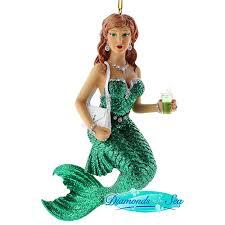 december diamonds soda mermaid ornament