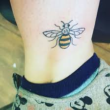 the manchester bee a symbol of hope and the many tattoos to