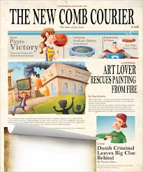 image result for printable newspaper template cartoons two