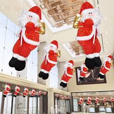 High Quality Christmas Decorations High Quality Christmas Decoration Cartoon Fabrics Santa Claus Market