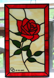 glass roses 93 best stained glass roses images on stained glass