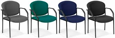 Fabric Guest Chairs Stackable Chairs Ofm Stackable Padded Guest Chair 404