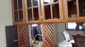 Kitchen Cabinet Installation Kitchen Cabinet Installation Using Teak Youtube