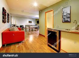 fun play room home interior basement stock photo 96711229