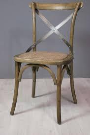 chaise bistrot assise et fauteuil chaise bistrot en chêne et métal