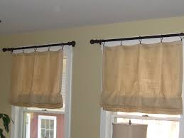 functional and beautiful burlap window treatments