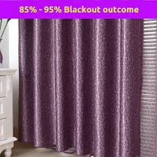 Dusty Blue Curtains Interior Ombre Lavender Blackout Curtains For Window Decor Idea