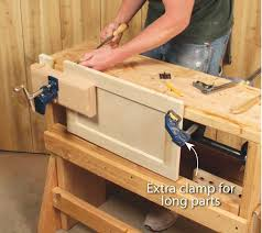 Mounting A Bench Vise 3 Classic Vises Made With Pipe Clamps Popular Woodworking Magazine