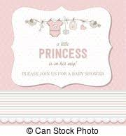 floral shabby chic card baby shower invitation wedding