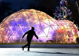 rotary lights la crosse rotary lights ice rink may open saturday with a few ifs local