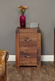 Wood Two Drawer Filing Cabinet by Sophisticated Walnut Filing Cabinet Small Hampshire Furniture