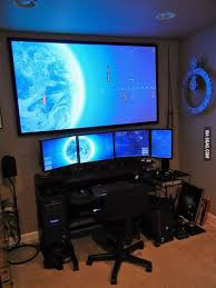Home Office Gaming Setup 122 Best Geeks Images On Pinterest Gaming Setup Pc Setup And