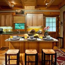 kitchen hickory kitchen cabinets kitchen island wood flooring