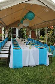 ideas about outdoor graduation parties plus how to decorate a