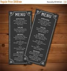 wedding menu template silver gray poster wedding menu diy wedding