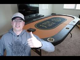 10 player poker table i bought a poker table the nightly grind poker vlog youtube