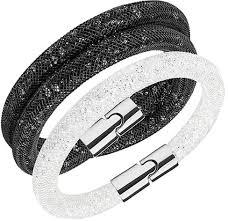 swarovski set bracelet images Swarovski women 39 s palladium stardust bracelet set s 5185000 jpg