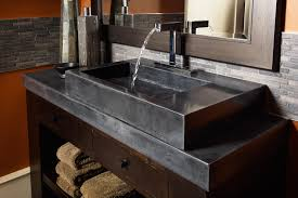 Cement Bathroom Sink - polished concrete bathroom vanity polished concrete bathroom