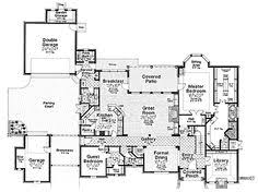 chateauesque house plans style house plans 3458 square foot home 2 story 4 bedroom and