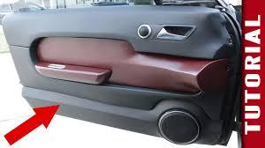 how to make custom interior car panels youtube