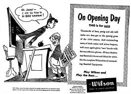 opening day advertisement