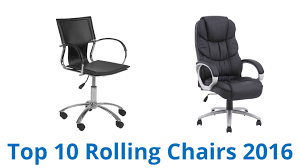 Office Rolling Chairs by 10 Best Rolling Chairs 2016 Youtube