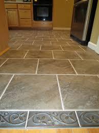kitchen tile floor designs that are not boring kitchen tile floor