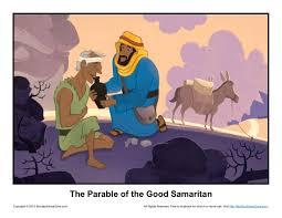 parable of the good samaritan bible illustration