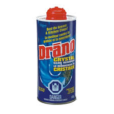 Clogged Kitchen Sink Drano by Drano Drano Drain Cleaner 500 G Réno Dépôt