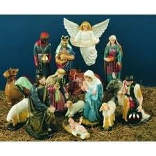 nativity outdoor complete outdoor nativity set color finish