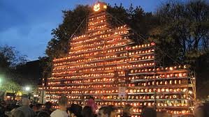 keene pumpkin festival gets ready for halloween with largest lit