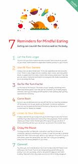 7 reminders for mindful mindful
