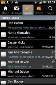 microsoft s hotmail android app goes live techcrunch - Hotmail App For Android