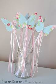 butterfly party favors butterfly wand birthday party favor dress up photo prop