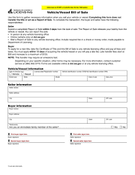 Car Bill Of Sale Template by Download Bill Of Sale Form Pdf