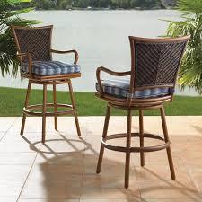 Outdoor Bar Height Swivel Chairs Elegant Outdoor Swivel Bar Stool Tallahassee Outdoor Adjustable