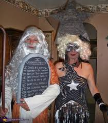 lady gaga and moses halloween costumes