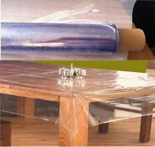 thick clear vinyl table protector pvc table cover tablecloths ebay