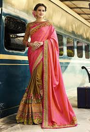 engagement sarees for luxury embroidered saree with elephant design for engagement wear