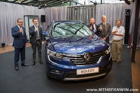renault suv koleos renault u0027s flagship suv the koleos is launched in malaysia