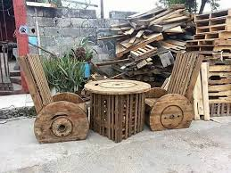 Cable Reel Chair Easiest And Best Ideas For Wood Pallet Recycling Recycled Things