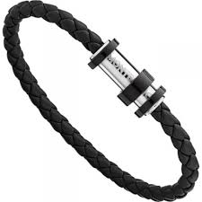 black woven leather bracelet images Montblanc meisterst ck black woven leather bracelet wheelers jpeg